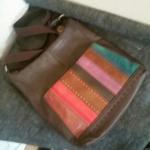The Sak Bags - The Sak Cross Body bag Soft leather color accents
